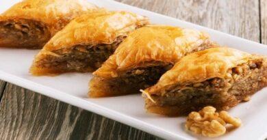 Baklava Maison recette