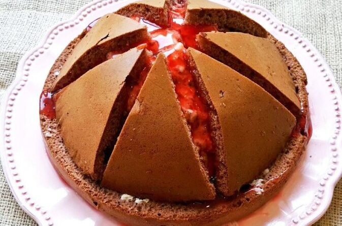 Gâteau Volcan