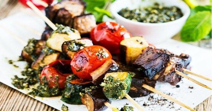 Les légumes grillés