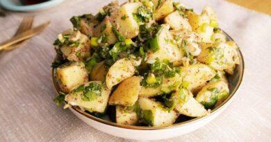 Recette de salade de pommes de terre