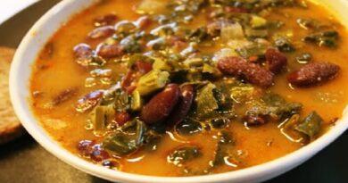 Recette de soupe au chou noir