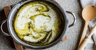 Recette de soupe au yaourt avec du riz
