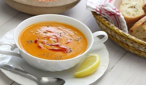Recette de soupe aux lentilles rouges