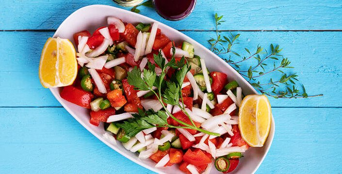 Salade du berger turc (salade de Çoban)